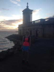 Almost finished as the sun sets at Normanton Church, Rutland Water. This was shortly after I performed rave moves at the uninterested sheep.