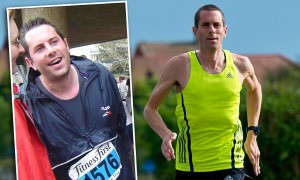 Steve before 2007 and then now! Read the next issue of Trail Running mag (out 6 Nov) to find out the outrageous thing Steve does immediately after every one of his target key races!