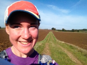 That's more like it! A delightfully sunny Sunday 10 miler, the kind that makes you feel thankful to have legs, even if they are a bit tired from the day before.