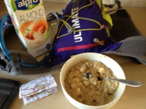 Thoughts of a delicious breakfast kept me moving forwards