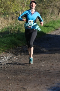 Me loving it on Day 3 with 5 miles to go in the sun