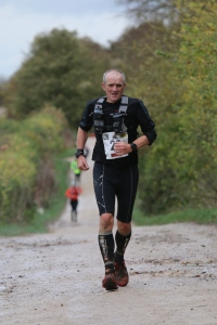 This is coach Rory Colman giving it some welly on Day 1