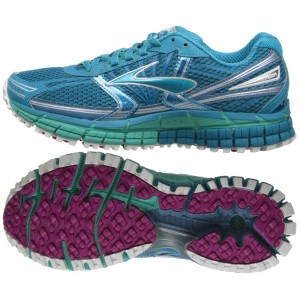 Brooks Adrenaline ASR - I've been wearing them throughout my training on Rory's advice.