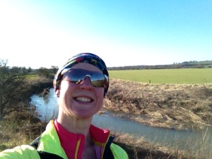 Yours truly, truly ready for The Coastal Challenge, on my last 20 miler (whoops, 23 miler...)