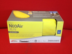 The NeoAir, light yet very comfy - I'll need to sleep well to recover as best as possible for my multi-marathon race