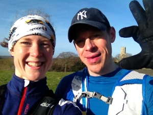 Last 10 miler with Lovely Steve