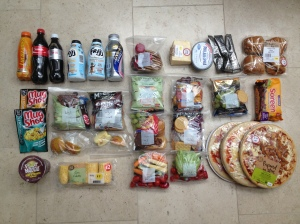 All the food you need for a crazy 24 hour challenge